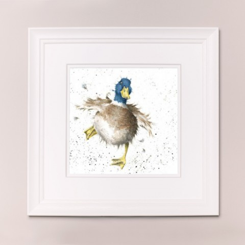 A Waddle And A Quack Wrendale Country Set Large Frame