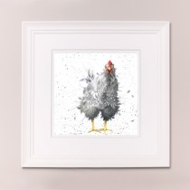 Curious Hen Wrendale Country Set Large Frame