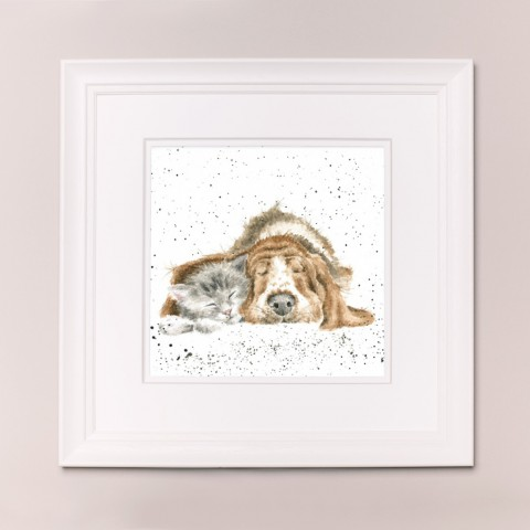 Dog and Catnap Wrendale Country Set Large Frame