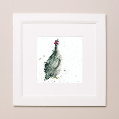 Guinea Fowl Wrendale Country Set Small Frame