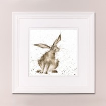 Hare Raising Wrendale Country Set Large Frame