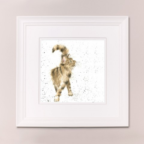 Just Purrfect Wrendale Country Set Large Frame