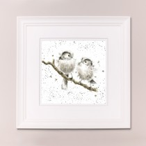 Lovebirds Wrendale Country Set Large Frame