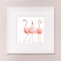 Pink Ladies Wrendale Country Set Large Frame