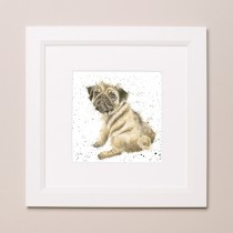 Pug Love Wrendale Country Set Small Frame