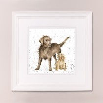 Puppy Love Wrendale Country Set Large Frame