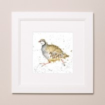 Red Legged Bird Wrendale Country Set Small Frame