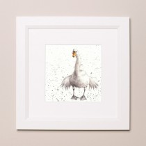 Swan Fine Day Wrendale Country Set Small Frame