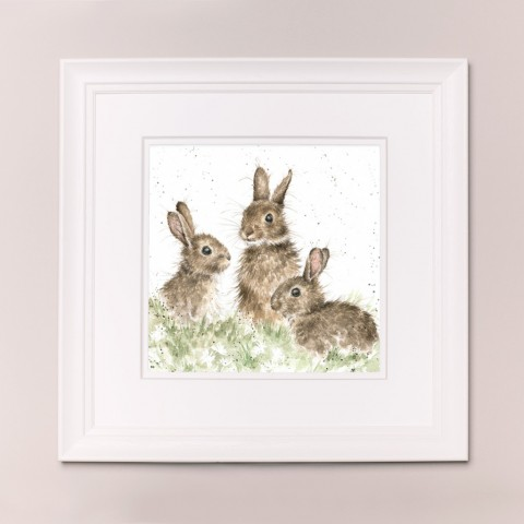 The Foxtrot Wrendale Country Set Large Frame