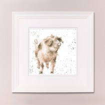 Truffles and Trotters Wrendale Country Set Large Frame